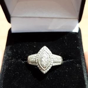 Jewelry - COPY - Diamond Sterling ring.